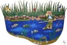 Vodník na rybníku